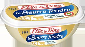 packaging du beurre tendre elle&vire