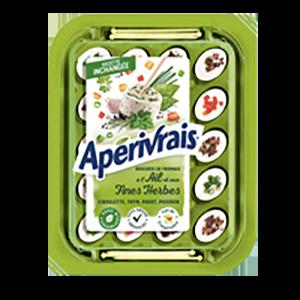 packaging du fromage Apérivrais
