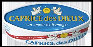 packaging du fromage caprice des dieux