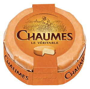 packaging du fromage Chaumes le véritable