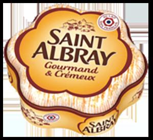 packaging du fromage saint Albray