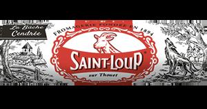 packaging du fromage de chèvre Saint-Loup