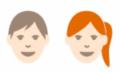 pictographie d'un homme et d'une femme