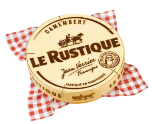 packaging du camembert le rustique
