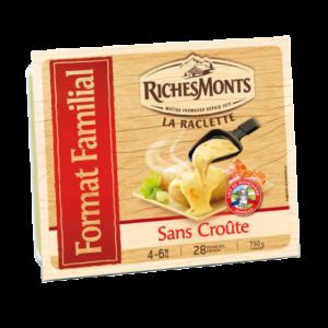 packaging du fromage à raclette RichesMonts