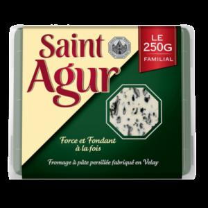 packaging du fromage saint agur