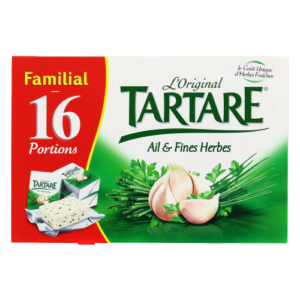 packaging du fromage Tartare